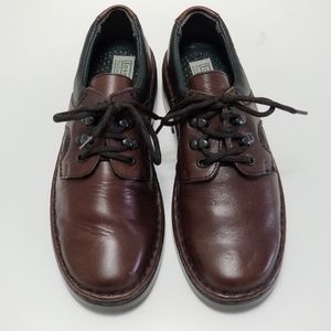 Josef Seibel Brown Loafers Tie Up Shoes Size 8